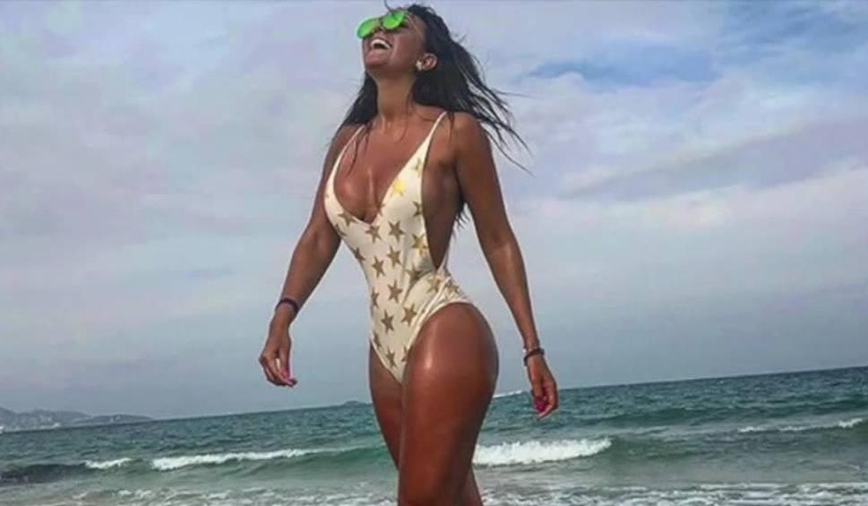 Film do artykułu: Dziennikarka sportowa, reporterka i miss bikini fitness. Utalentowana Meksykanka zachwyca kibiców na całym świecie