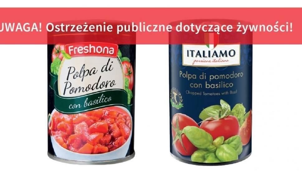 Film do artykułu: Główny Inspektor Sanitarny ostrzega: uważajcie na te pomidory w puszkach, mogą w nich być kawałki plastiku