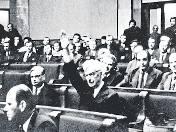 Symboliczny gest Stanisława Stommy, który jako jedyny w całym Sejmie wstrzymał się od głosu