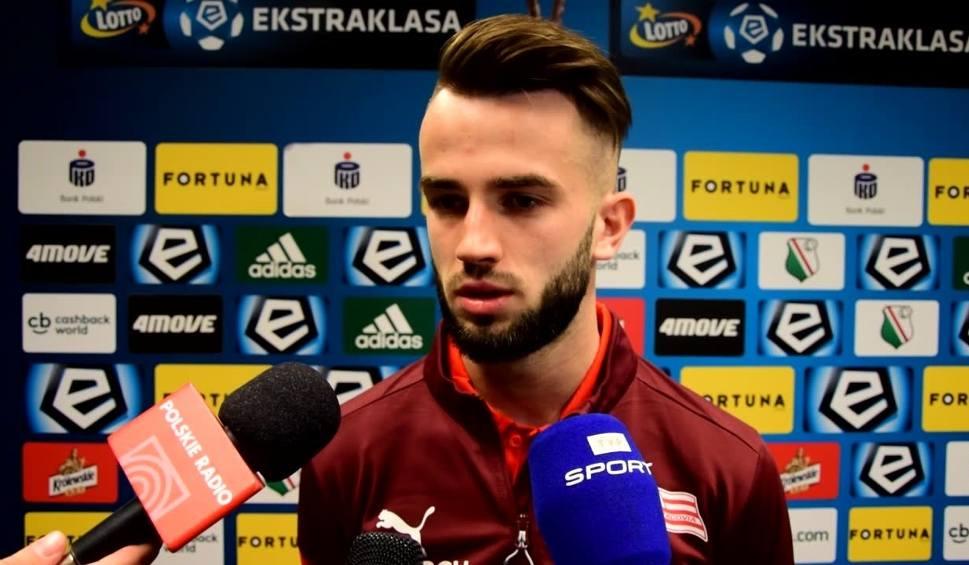 Film do artykułu: Mateusz Wdowiak po meczu z Legią: Szkoda tej bramki. To byłby dla nas cenny remis