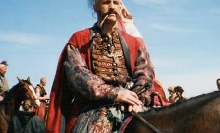 """Jako Krzywonos w """"Ogniem i mieczem"""" (1999 r.)"""