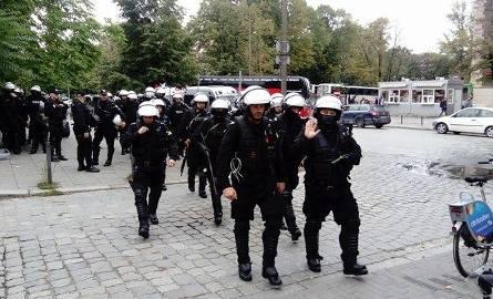Akcja policji na Dworcu