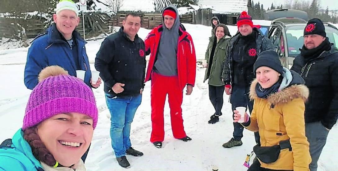 Jelenie w Terenie Pędziwiatry podczas ostatniego wypadu w Tatry