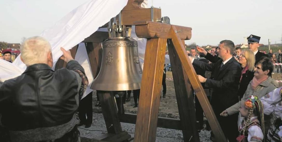 Dzwon Miłosierdzia został poświęcony w Łagiewnikach i przewieziony do Brzegów