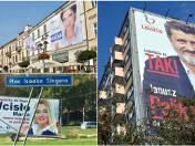 Zdjęcie do artykułu: Wybory 2015. Banery i plakaty szpecą Lublin. Niektóre wiszą nielegalnie (ZDJĘCIA)