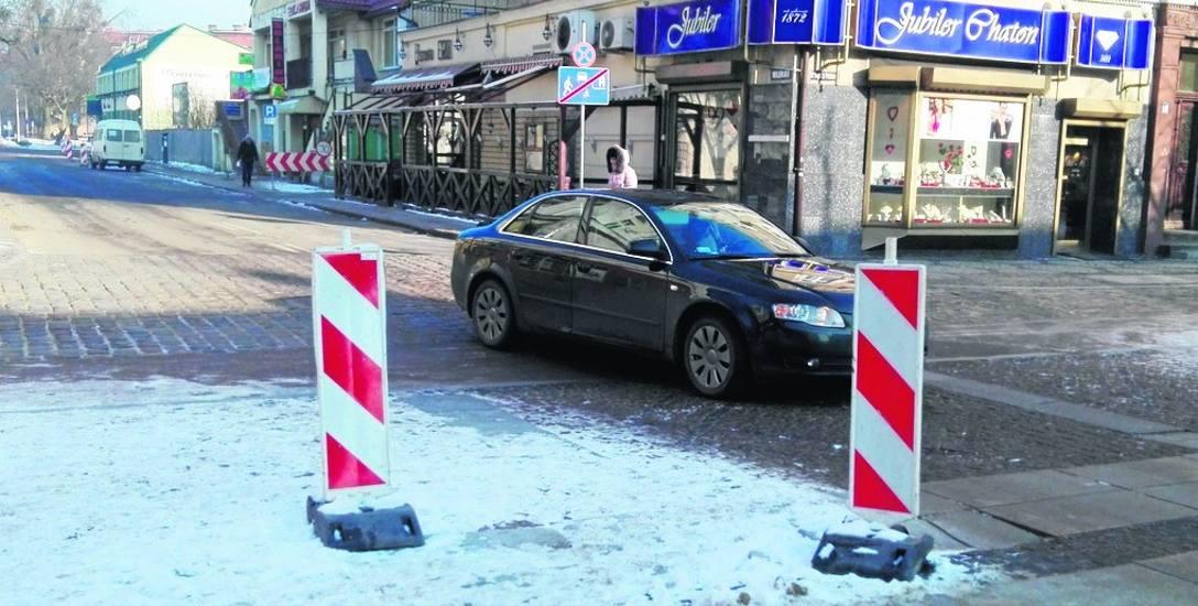 W poniedziałek przejazd przez deptak w kierunku ulicy Wileńskiej zostanie zamknięty.