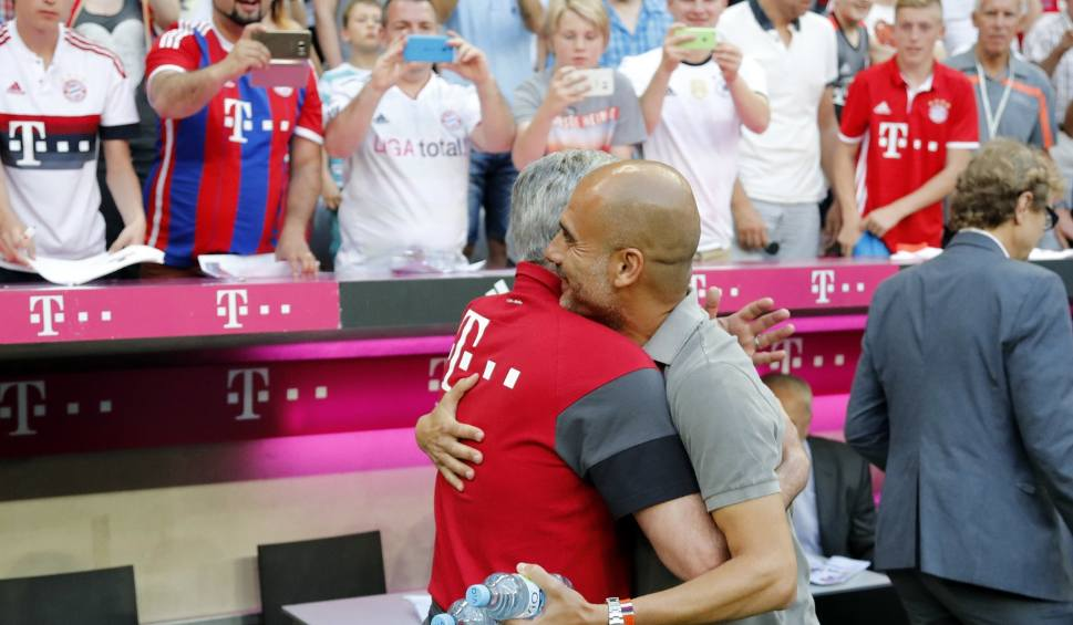 Film do artykułu: Zwycięski debiut Ancelottiego. Guardiola przegrał na Allianz Arenie [ZDJĘCIA]