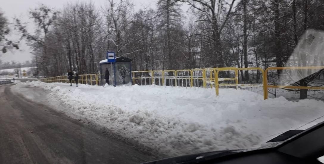 Stojaki dla rowerzystów ustawiono w pobliżu przystanków, m.in. przy ul. Wczasowej