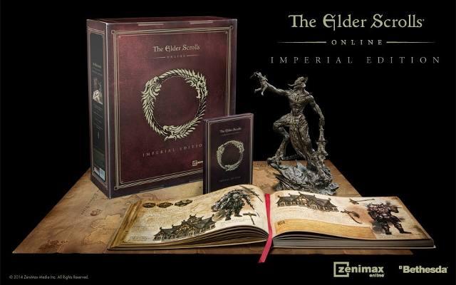 The Elder Scrolls Online: Edycja kolekcjonerska w szczegółach