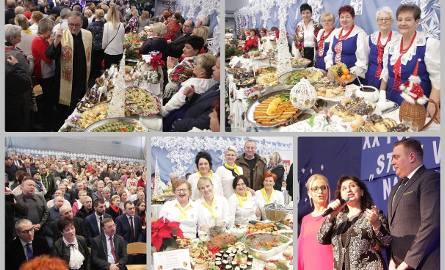 """Już po raz dwudziesty starostwo powiatowe we Włocławku zorganizowało wystawę """"Stoły wigilijne na Kujawach"""". W Kruszynie gm. Włocławek swoje potrawy wystawiły"""