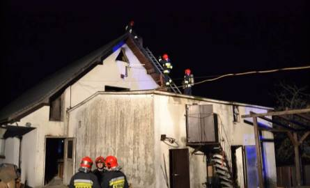 Somonino: Pożar kotłowni w budynku warsztatowym [20.11] W akcji bierze udział łącznie 7 zastępów straży pożarnej