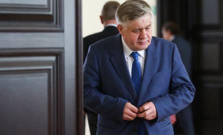Minister Krzysztof Jurgiel (na zdjęciu) pozwany. Marek Trela: Liczę, że sam zrzeknie się immunitetu