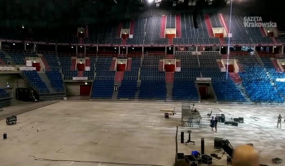 Film do artykułu: Tauron Arena przygotowywana dla gości anglojęzycznych
