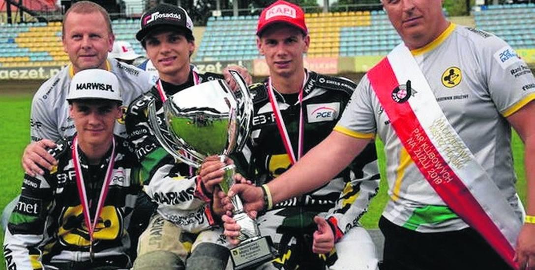 Młodzieżowy duet falubazu został mistrzem polski