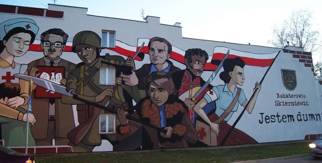 Mural kosztował 40 tys. zł. Drugiego już nie będzie