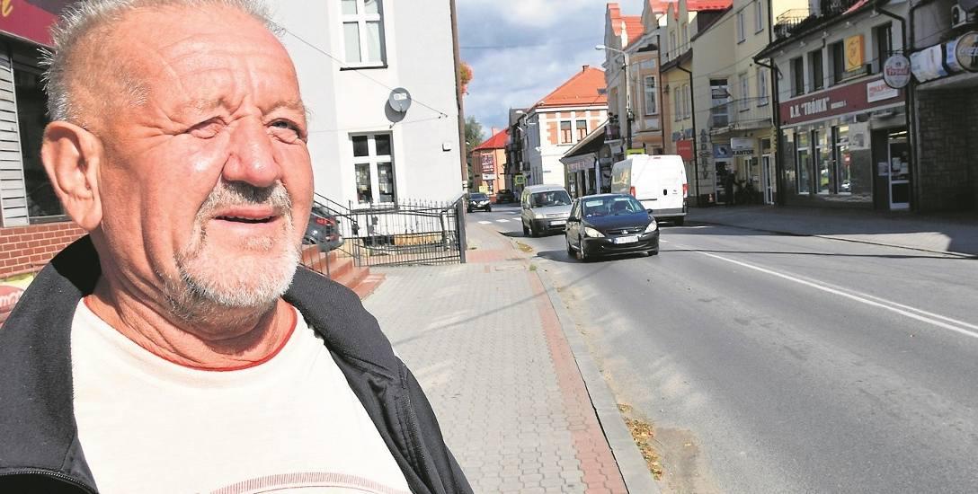 Kazimierz Bąk: - Niech ta obwodnica wreszcie powstanie, bo mamy już serdecznie dość tych ciężarówek w samym centrum