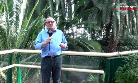 Trójwymiarowa Prognoza Pogody Radia Katowice tym razem z gliwickiej palmiarni