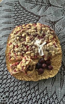 Ciasto drożdżowe ze śliwkami i kruszonką jak u babci!