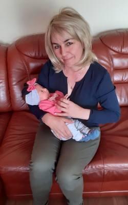 Pani Agnieszka chce wyzdrowieć i żyć dla swojej wnuczki Igi.