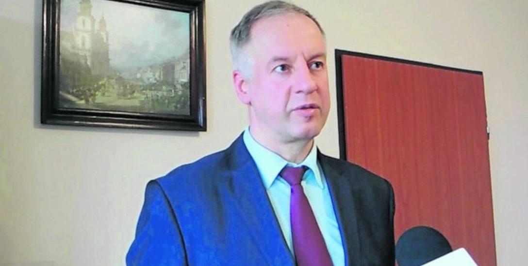 Tomasz Walasek, dyrektor Szpitala Powiatowego w Sławnie