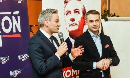 Spotkanie Roberta Biedronia, przedstawicieli Lewicy z bydgoszczanami odbyło się w No 1 Restaurant Wine & Bar przy ul. Staszica 1.