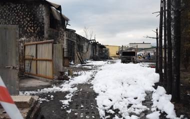Jeden z największych pożarów na Żywiecczyźnie. Akcja gaśnicza trwała kilka godzin