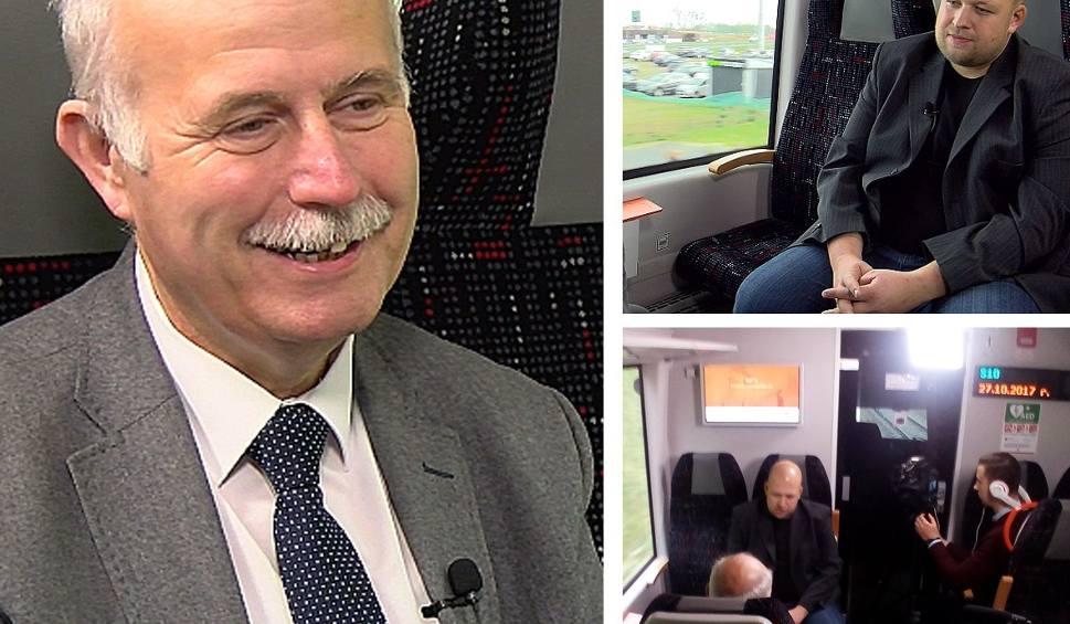 Film do artykułu: Kolej na... Rozmowy na trasie PKM. Leszek Lewiński o historii kolei na Pomorzu [WIDEO]
