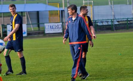 Trener Adam Nocoń.