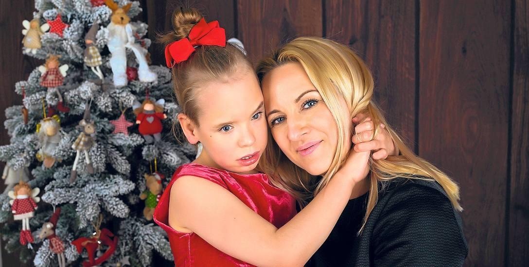 Aneta meszko z Niną w grudniu 2017 roku. - Marzę o tym, by nie drżeć ciągle o Ninę i pożyć choćby namiastką życia przeciętnej Polki - mówi matka.