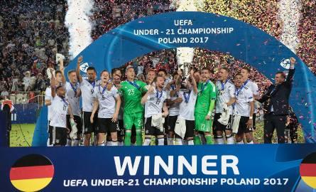 Niemcy mistrzami Europy U-21 po finale w Krakowie