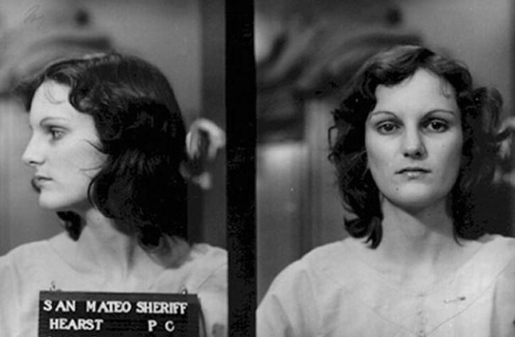 Zdjęcie Patty Hearst z policyjnych archiwów