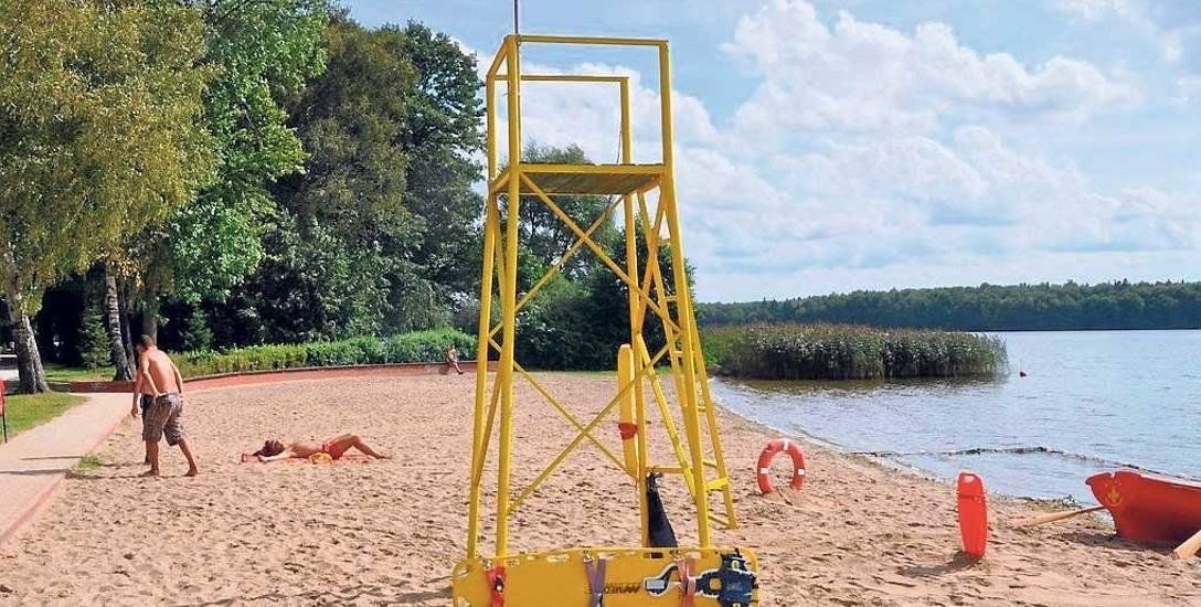 Problemy z bakteriologiczną jakością wody na plaży wojskowej pojawiają się regularnie co roku