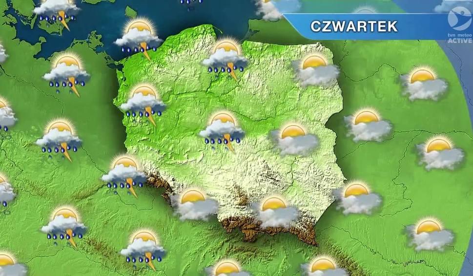 Film do artykułu: Pogoda w Opolu i na Opolszczyźnie. W czwartek możliwe burze
