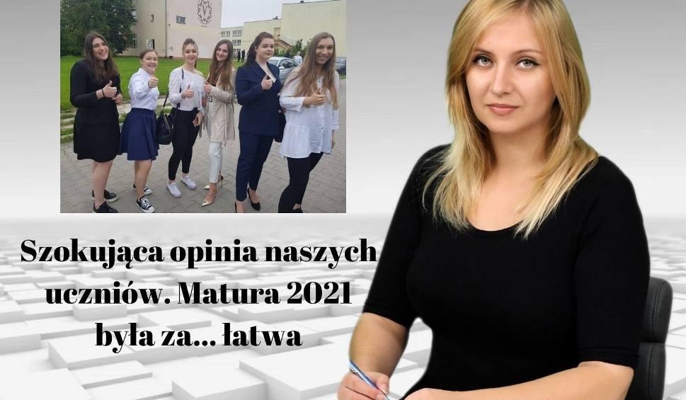 Film do artykułu: Szokująca opinia naszych uczniów! Matura 2021 była za... łatwa [WIADOMOŚCI]