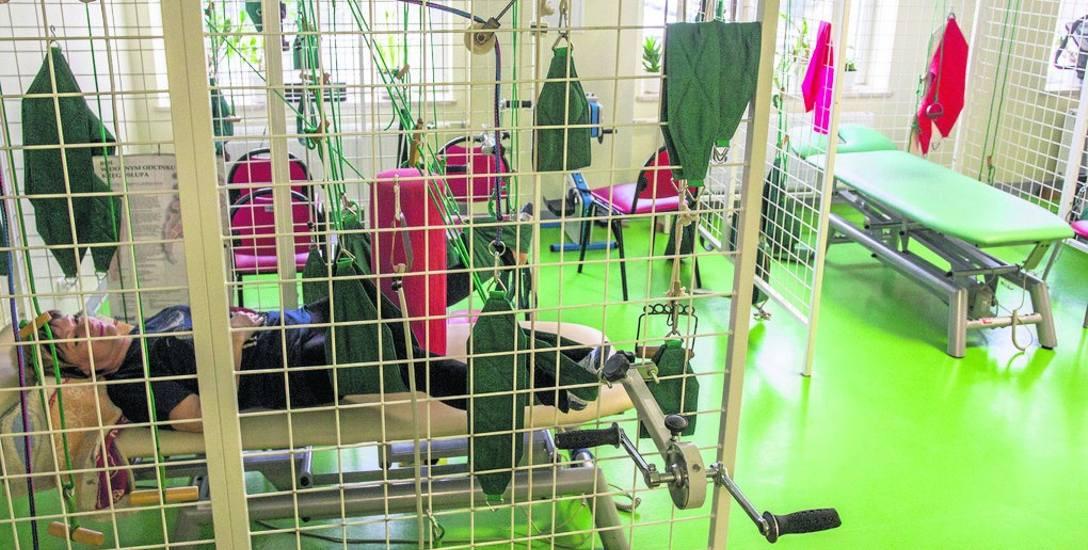 Ośrodek rehabilitacji dziennej w słupskim Wojewódzkim Szpitalu Specjalistycznym. Na zabiegi rehabilitacyjne czeka się około roku, a kolejki mogą się