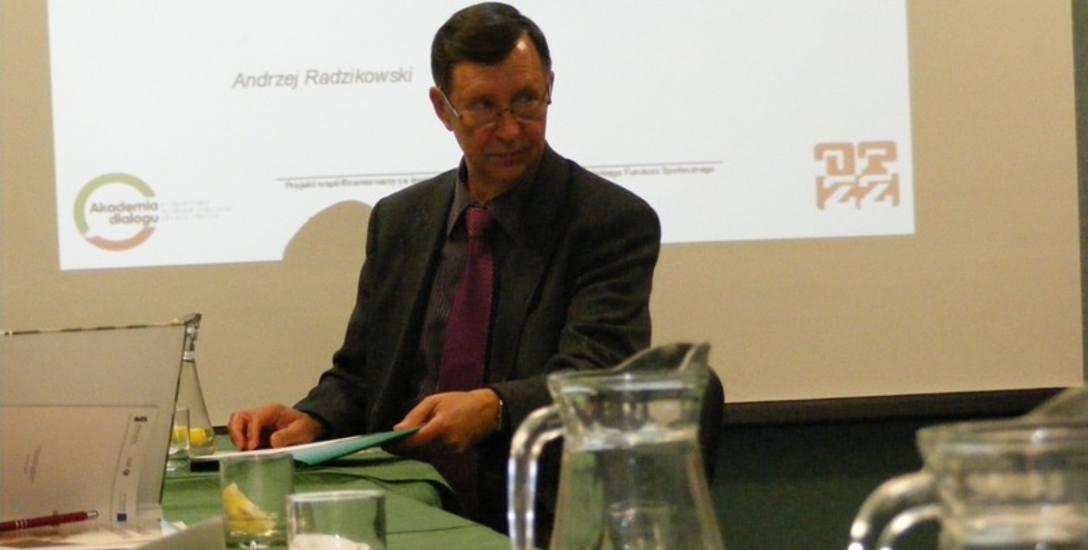 Kazimierz Schreiber, przewodniczący Rady OPZZ Województwa Pomorskiego