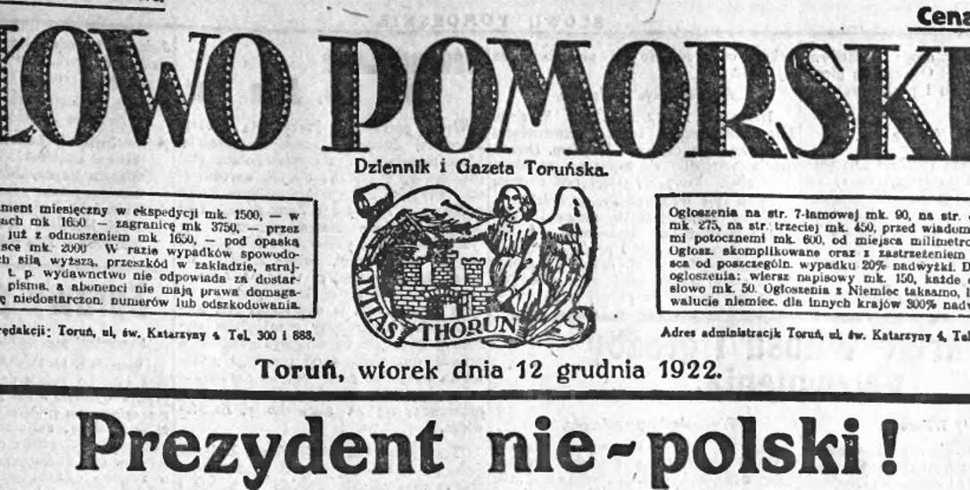 - Celem Eligiusza Niewiadomskiego miał być Józef Piłsudski - mówi prof. Pleskot