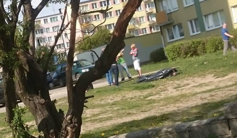 Film do artykułu: Przy ul. Tczewskiej w Grudziądzu znaleziono zwłoki mężczyzny