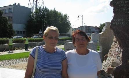 Alina Głuszczuk i Danuta Szuflińska