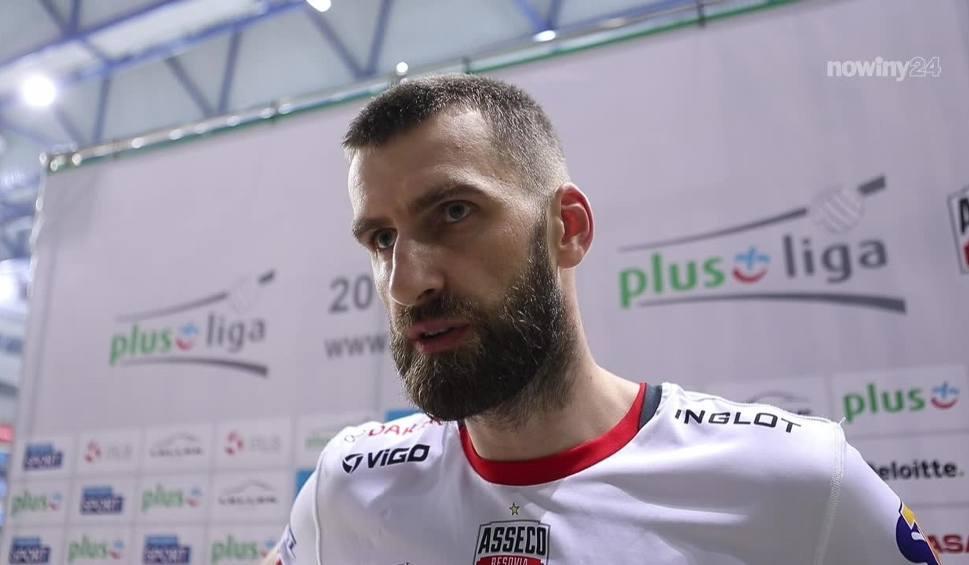 Film do artykułu: Asseco Resovia nadal nie może wygrać meczu. Marcin Możdżonek przyznaje jednak, że widać pewien postęp w grze zespołu [WIDEO]