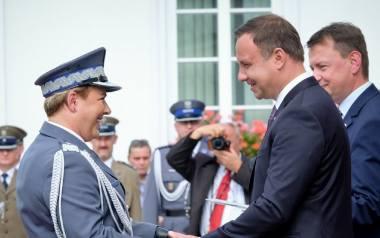 Nominację generalską nadinspektor Helena Michalak otrzymała w Belwederze z rąk prezydenta Andrzeja Dudy. Oprócz gorzowianki zostało wówczas wyróżnionych