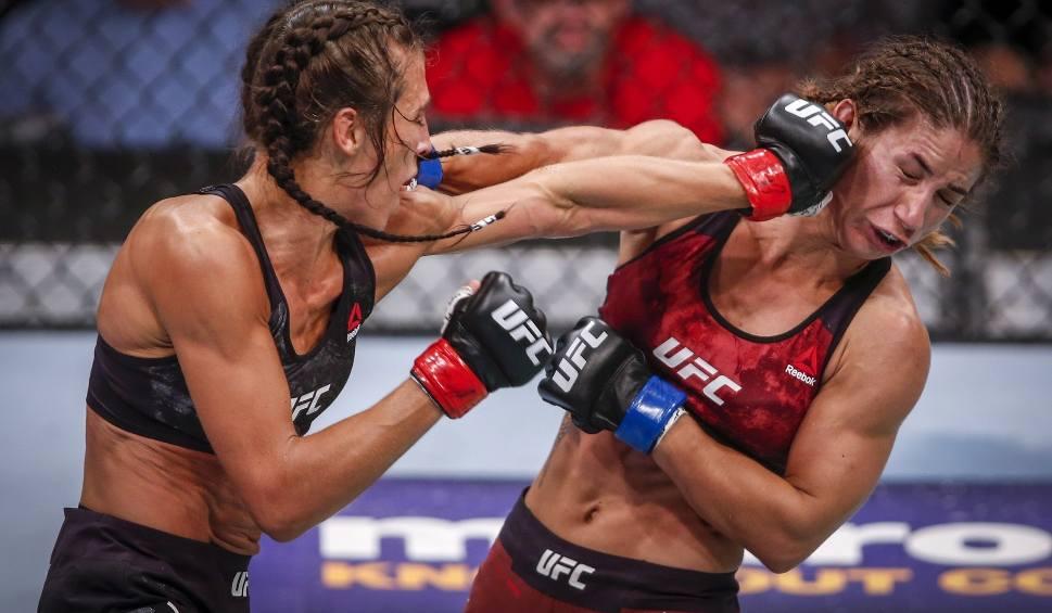 Film do artykułu: UFC Calgary. Joanna Jędrzejczyk powróciła na zwycięski szlak. Tecia Torres nie miała szans