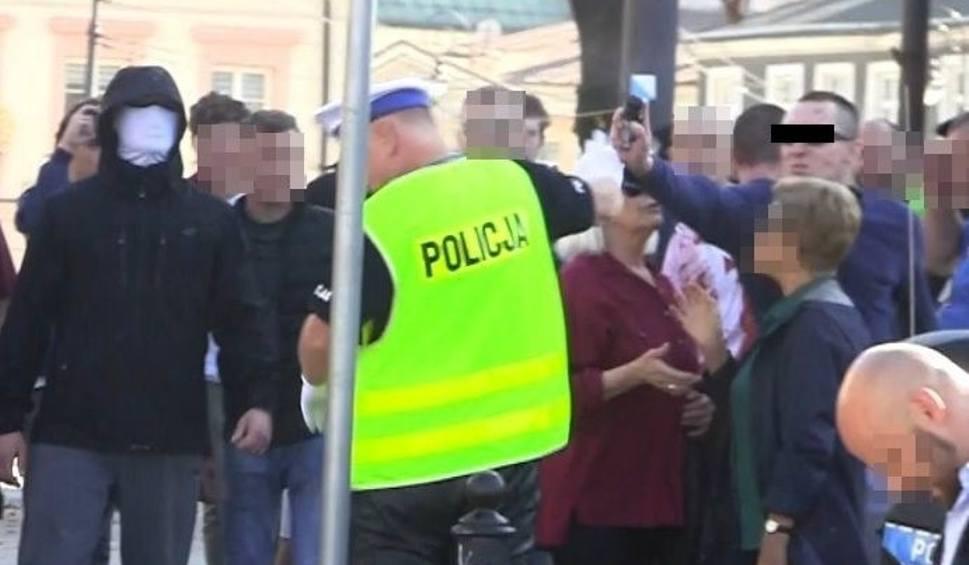 Film do artykułu: Zaatakował policjanta gazem podczas Marszu Równości. Usłyszał zarzuty