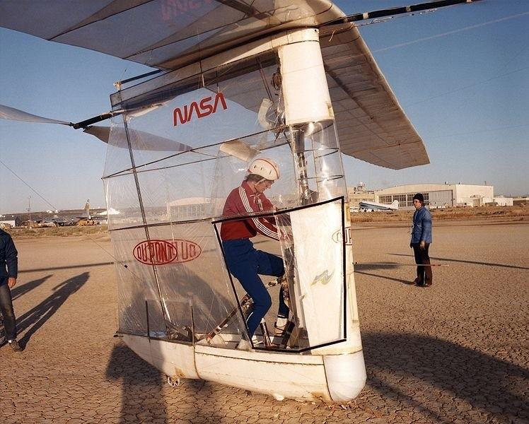 Gossamer Albatross, widok kabiny