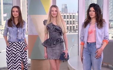 Jeansowe stylizacje na wiosnę
