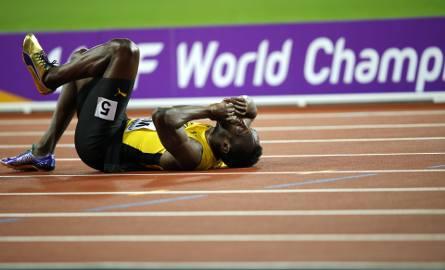 Kontuzja Usaina Bolta w ostatnim biegu w karierze - ten obrazem zostanie wszystkim przed oczami po MŚ w Londynie