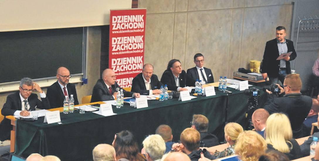 Na debacie stawili się wszyscy, którzy zapowiedzieli swój udział w walce o urząd prezydenta miasta Rybnika