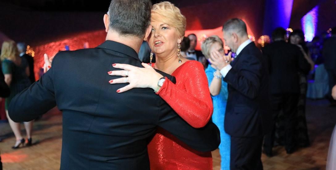 Dyrektorka Wydziału Sportu i Rekreacji Urzędu Miasta Mariola Soczyńska w tanecznych pląsach z mężem Grzegorzem