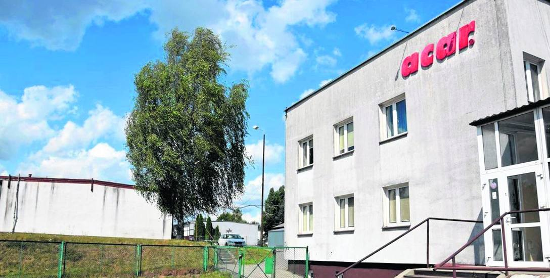 Biurowiec i hale przy ulicy Pilskiej po upadłej firmie Acar są sprzedawane, aby spłacić długi firmy