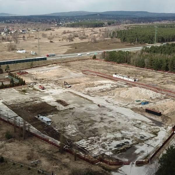Centrum marki DAF powstanie w Szczukowskich Górkach koło Kielc ! Ruszyła budowa na dawnym placu Vive (WIDEO)